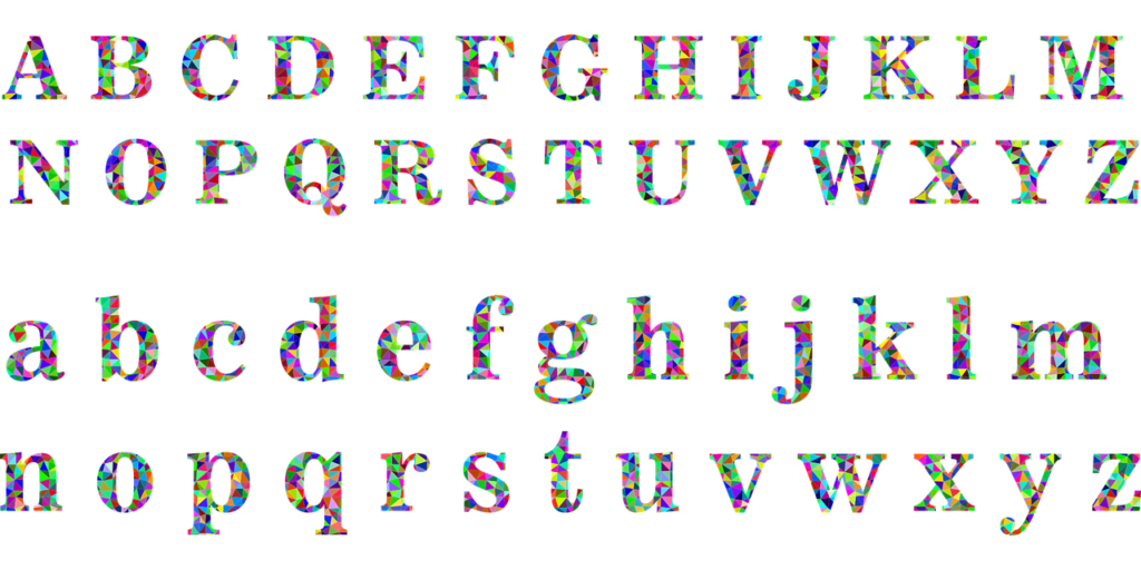Choose one or two font colours and stick to it. Keep the colours linked to your brand.